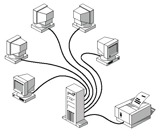 Заједничко коришћење штампача у мрежном окружењу