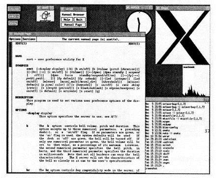 слика 5. Екранско корисничко окружење